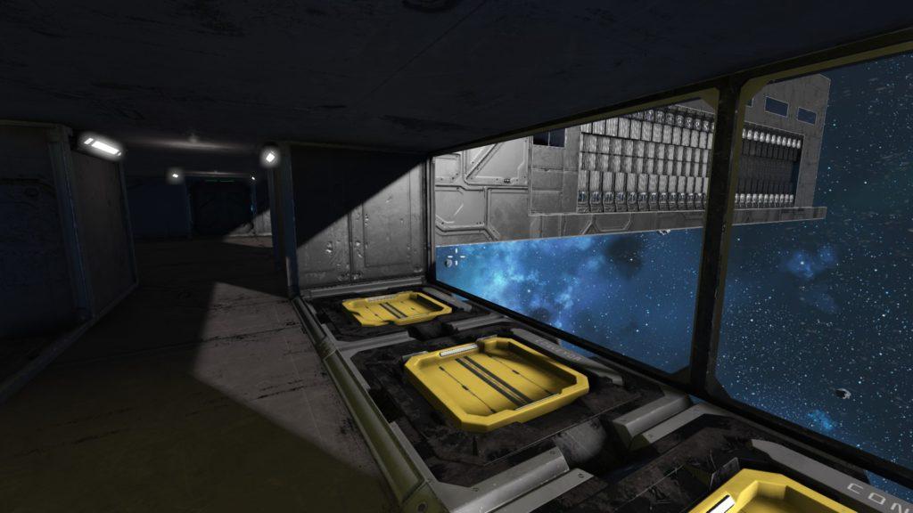 Vista desde el interior del Acople 1