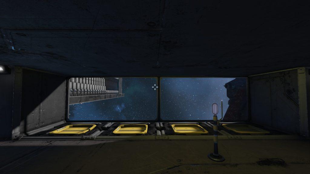 Vista desde el interior del Acople 2