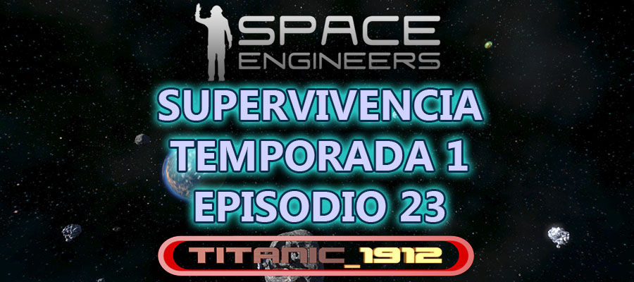 SPACE ENGINEERS T1 E23 | ¡CONSTRUIMOS UN COHETE, LANZADERA… COSA!